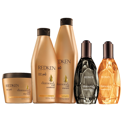 Diamond Oil Redken Products at HDC Hair & Esthetics salon & school in Halifax NS